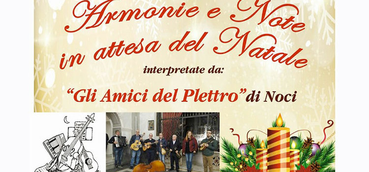 Gli Amici del Plettro in concerto a Locorotondo