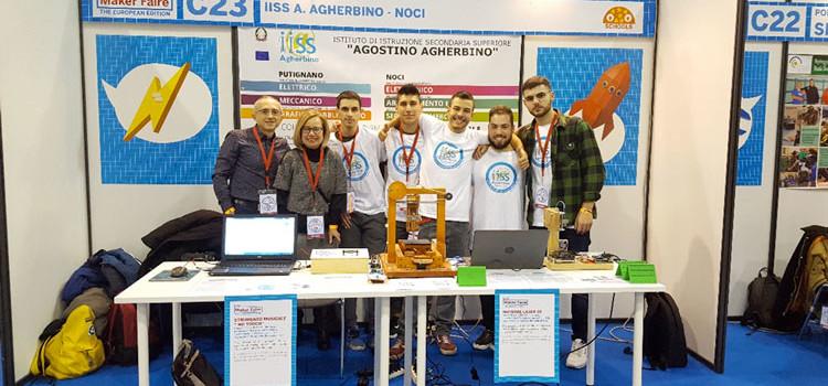 Agherbino: esperienza di successo al Maker Faire