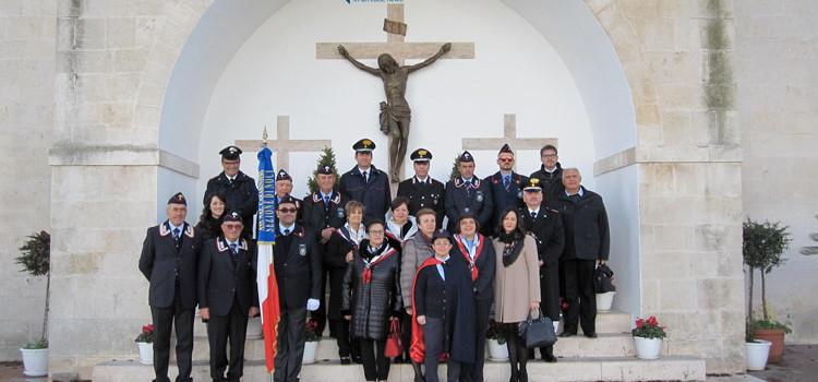 """Festa dell'Ass. Naz. Carabinieri, Cantore: """"Rafforziamo lo spirito di associazionismo"""""""