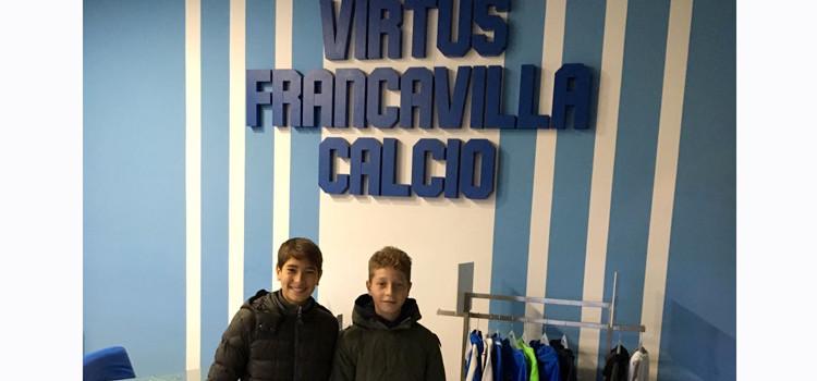 """Due giocatori dell'Atletico Noci al Francavilla: """"questa è la crescita che noi vogliamo come società"""""""