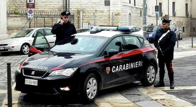 Pusher con fucile, un arresto a Castellana Grotte