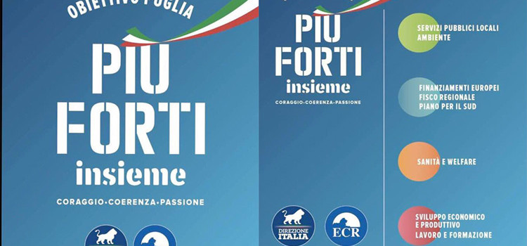 """Più forti insieme"": convention di Direzione Italia a Bari"