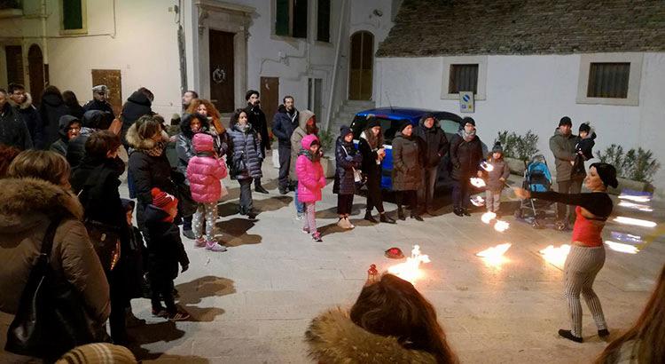 festa-natale-2017-Silvia-Fire-Show