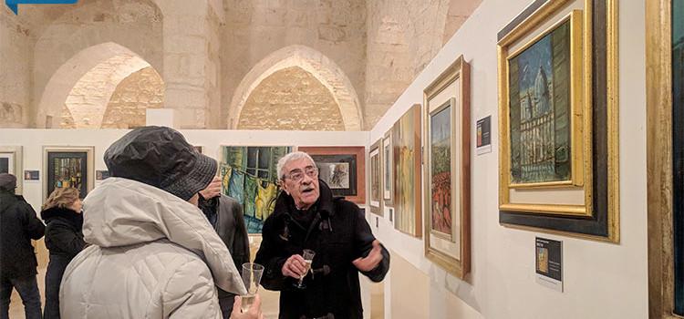 """L'artista Elio Bruni a Noci con la sua nuova mostra """"Si 'fa' per dire"""""""