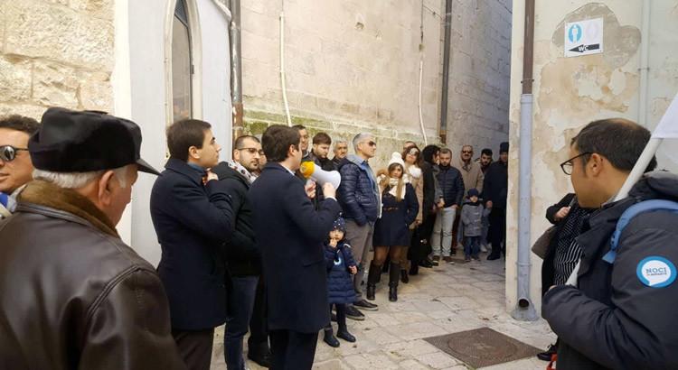 """""""L'arte del valorizzare"""" laboratorio civico del movimento Noci Riparte"""