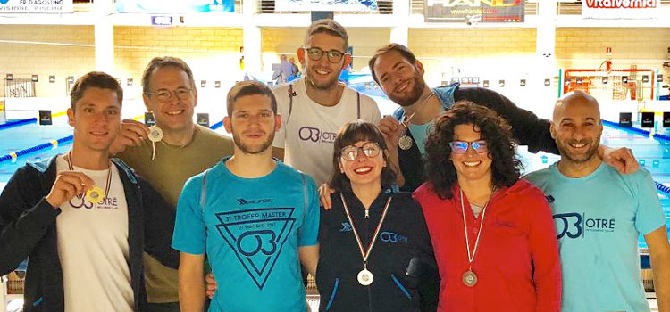 Otrè Master, debutto stagionale al 1° Trofeo X-MASter di Bari
