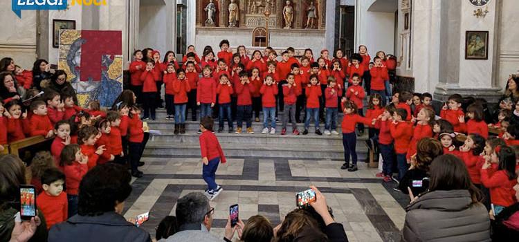 Il Natale dei piccoli alunni delle scuole nocesi