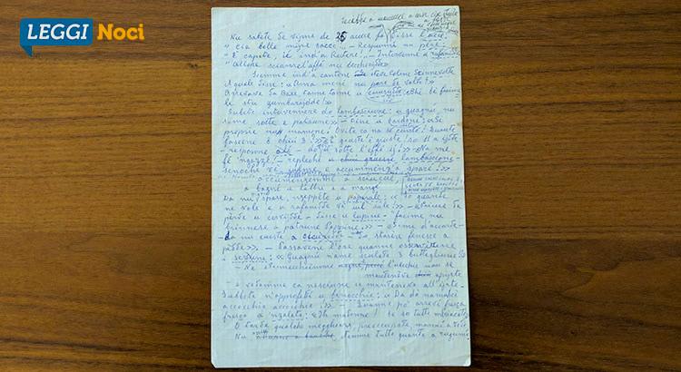 Documento autografo di Giovanni Miccolis