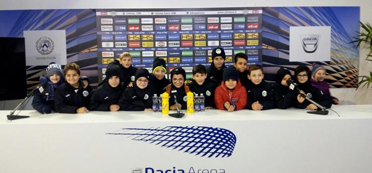 """Gli atleti dell'Atletico Noci all'Udinese Academy: """"un'esperienza bellissima"""""""