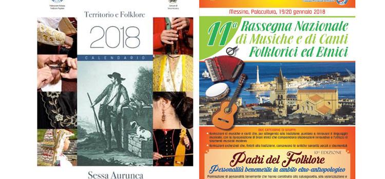 """Gruppo La Murgia nel calendario storico FITP, a Saponari il riconoscimento """"Padri del Folklore"""""""