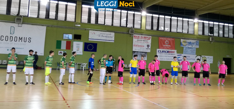 Noci Calcio a Cinque, Lenoci e Gentile firmano la prima vittoria del 2018