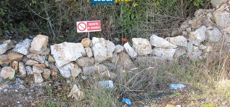 Abbandono indiscriminato di rifiuti