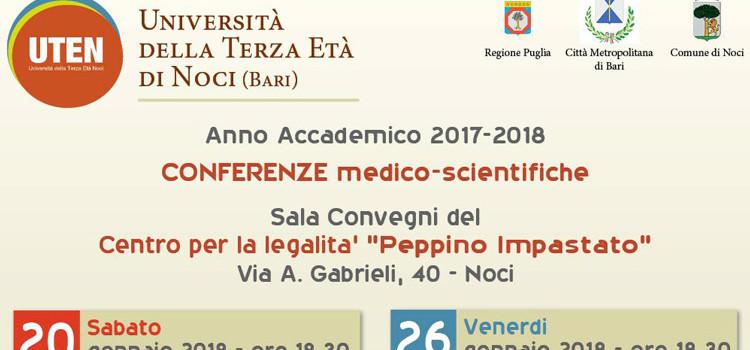 UTEN, al via le conferenze medico-scientifiche