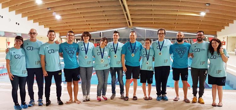 La Otrè Swim ha cinque nuovi Campioni Regionali Master