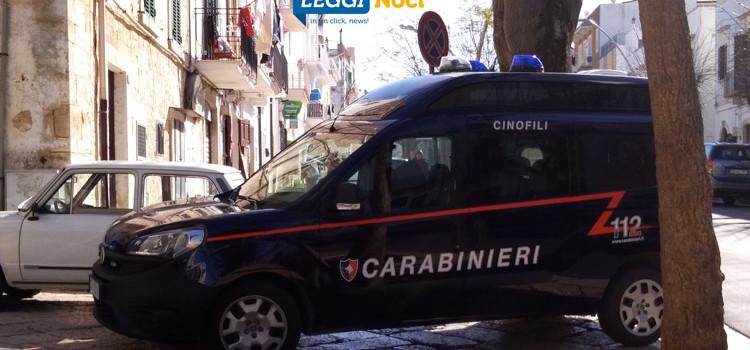 Controlli antidroga, Carabinieri Cinofili nel borgo antico