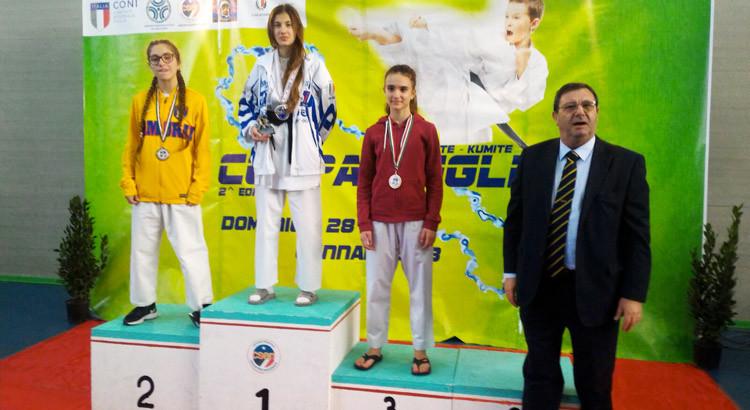 Karate: Lippolis vince la 2° edizione della Coppa Puglia Kumitè CSEN