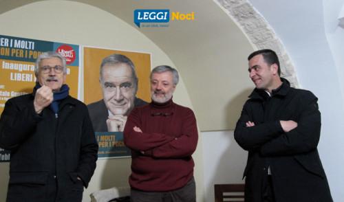 """Inaugurata la sede di Liberi e Uguali, D'Alema: """"lotta alle diseguaglianze"""""""