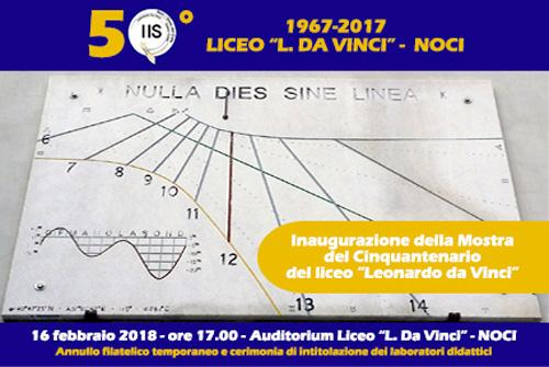 "Mostra del Cinquantenario del liceo ""Leonardo da Vinci"""