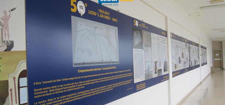 """Una mostra per celebrare i 50anni del liceo """"Leonardo da Vinci"""""""