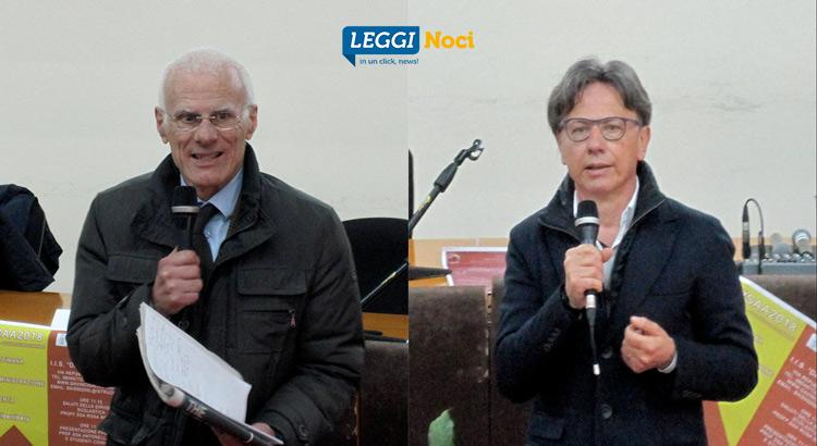 L'avv Josè Mottola e l'arch Francesco Giacovelli