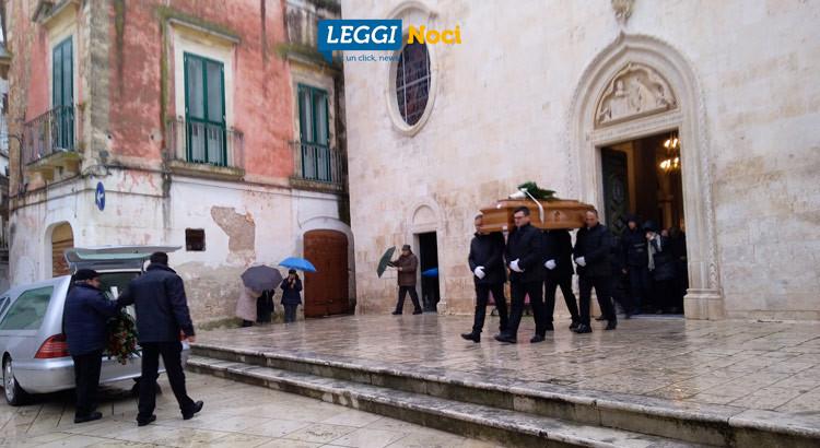 Il funerale di Michele Amatulli
