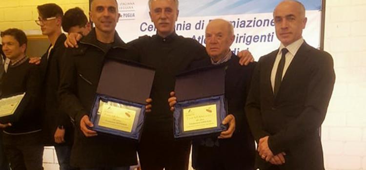 Festa dell'Atletica: due premi alla Montedoro
