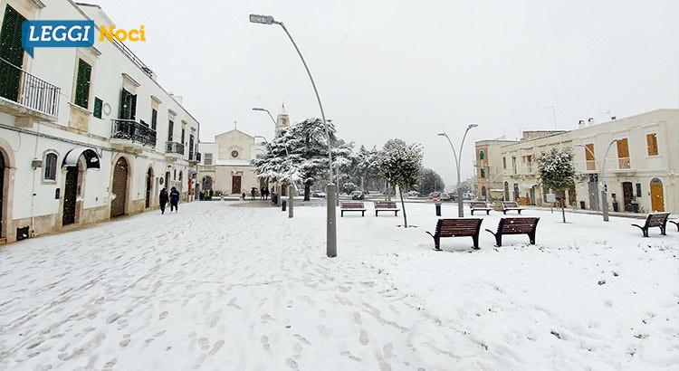 Emergenza neve: miglioramento della situazione meteo
