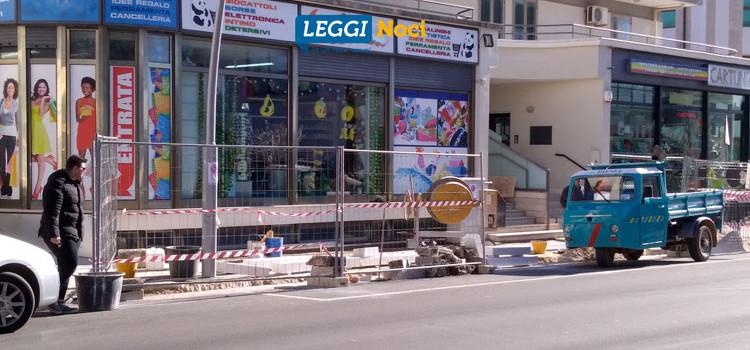 Cantieri aperti: interventi di manutenzione su strade e marciapiedi