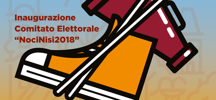 Azém u banne arréte, inaugurazione del comitato elettorale di Domenico Nisi