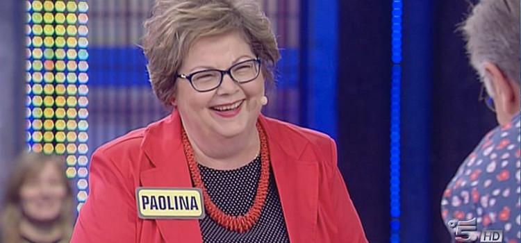 """La nocese Paolina Pasquino ad """"Avanti un altro!"""""""