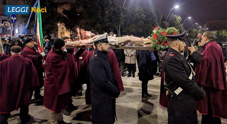 I riti della Settimana Santa: gli Altari della Reposizione e la Via Crucis di Cristo Casaboli