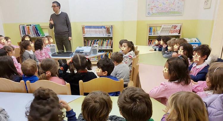 Cresco e divento cittadino consapevole: i bambini delle scuole dell'infanzia del 1° CD ospiti della Biblioteca