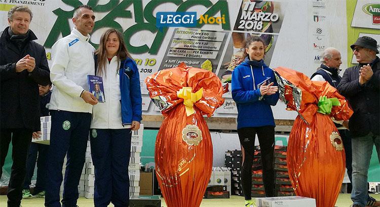 Premiazione vincitori con Nicole Orlando