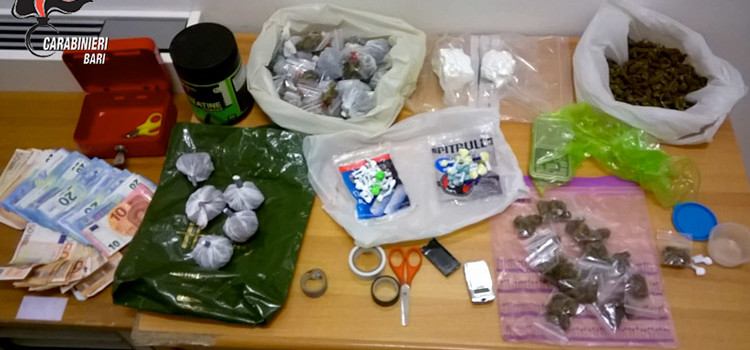 """Droga: agli arresti addetta alle pulizie con il """"vizio"""" dello spaccio"""