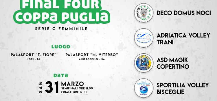Pallavolo: Noci ospita la Final Four di Coppa Puglia