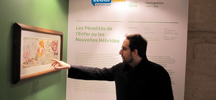 A Monopoli le opere grafiche di Joan Miró