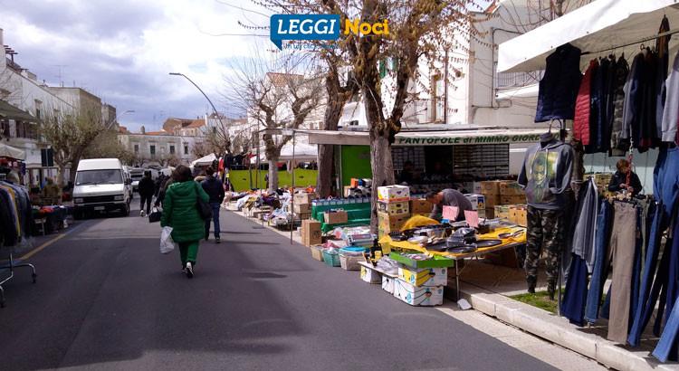 Mercato settimanale: dal 19 febbraio saranno temporaneamente spostati alcuni stalli