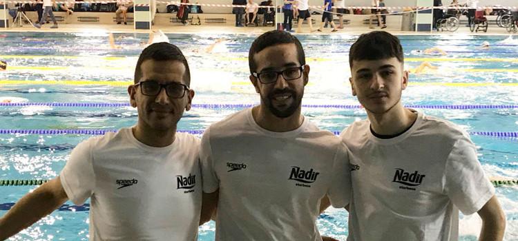 Recchia: due argenti ai campionati invernali di nuoto paralimpico