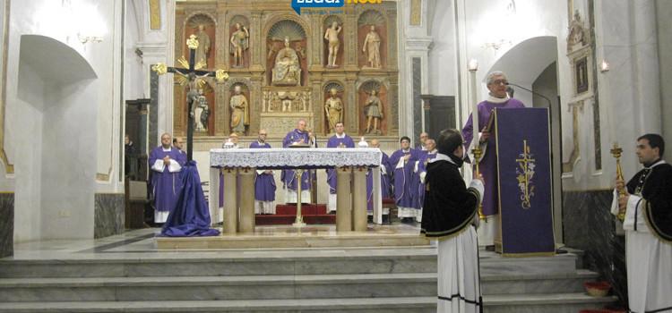 Stazione Quaresimale: Mons Favale ricorda don Nicola Novembre