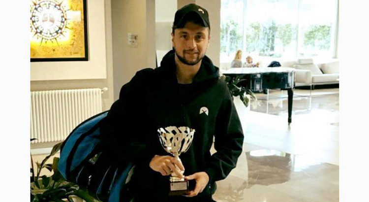 """Il tennista nocese Garzelli vince l'Open BNL di Bari: """"il mio punto di forza è la determinazione"""""""