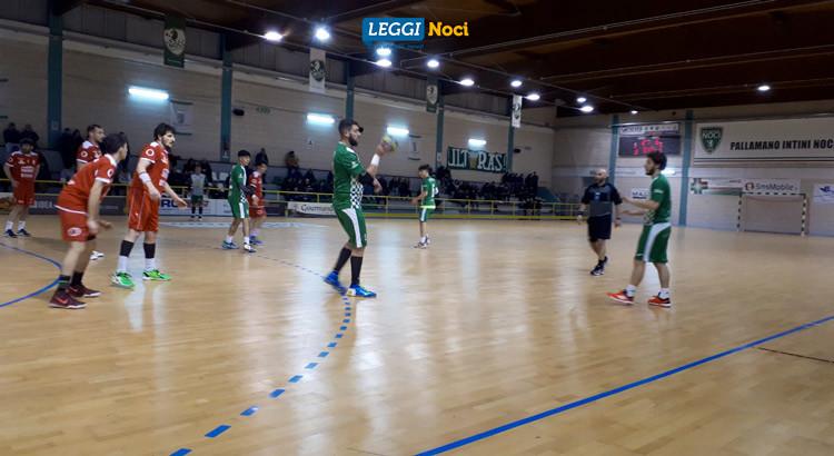 Pallamano, play – out: termina in parità Noci – Benevento