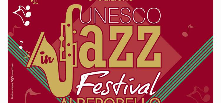 UNESCO in Jazz Festival, tutto pronto per la quinta edizione