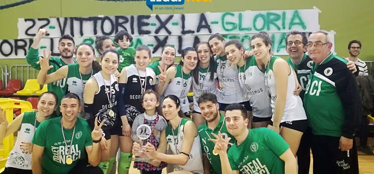 Volley: la Deco Domus Noci vince la Coppa Puglia