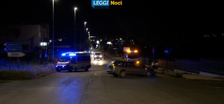 Incidente su via Mottola