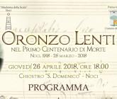 Noci ricorda Oronzo Lenti