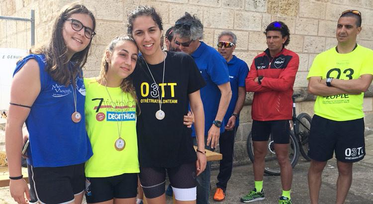 La Otrè Triathlon Team vince il duathlon sprint di Barletta