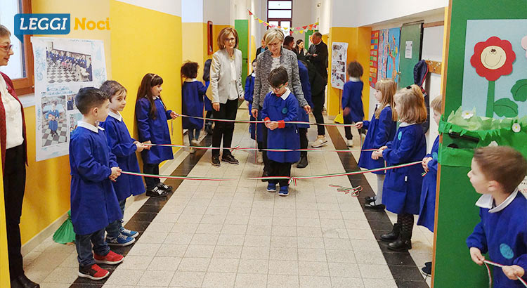 """Inaugurata la classe 1a A Senza Zaino nella scuola primaria """"Positano"""""""