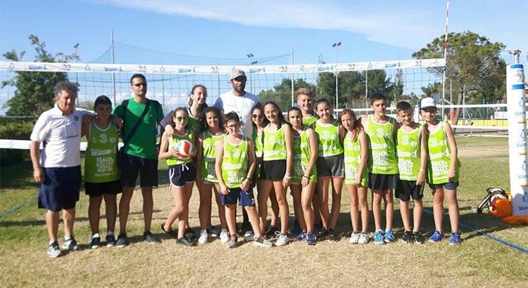 """La scuola media """"Gallo"""" conquista il podio al progetto nazionale Beach&Volley School"""