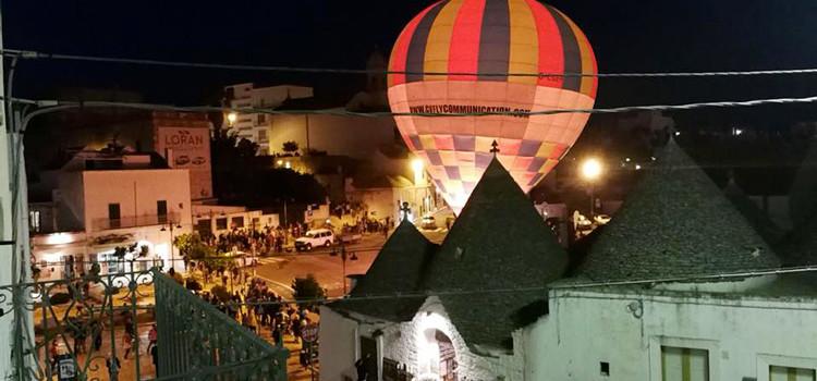 I trulli dall'alto: Alberobello in Mogolfiera torna il prossimo weekend