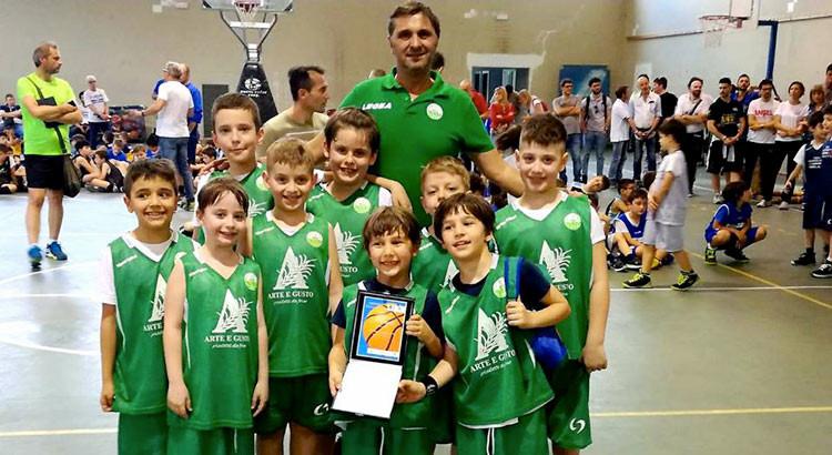 Basket School Noci al Memorial Giulio la Torre
